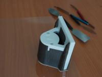 Druck mit Stützmaterial